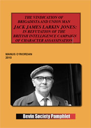 Jack Jones Pamphlet
